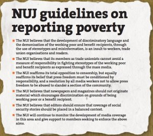 Why is it important for journalists to report poverty?